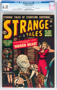 Strange Tales #10 (Atlas, 1952) CGC FN 6.0 Light tan to off-white pages
