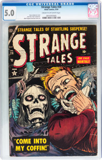 Strange Tales #28 (Atlas, 1954) CGC VG/FN 5.0 Cream to off-white pages