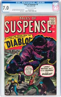 Tales of Suspense #9 (Marvel, 1960) CGC FN/VF 7.0 Off-white to white pages