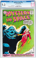 Silver Age (1956-1969):Science Fiction, Mystery in Space #64 (DC, 1960) CGC NM- 9.2 Cream to off-white pages....