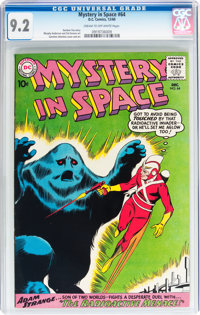 Mystery in Space #64 (DC, 1960) CGC NM- 9.2 Cream to off-white pages