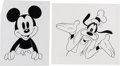 Animation Art:Production Drawing, Mickey Mouse and Friends Consumer Product Illustration Original ArtGroup (Walt Disney, 1990).... (Total: 7 Illustration Art)