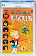 Bronze Age (1970-1979):Humor, Richie Rich Diamonds #3 File Copy (Harvey, 1972) CGC NM 9.4 Off-white to white pages....