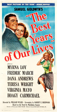 "The Best Years of Our Lives (RKO, 1946). Three Sheet (42"" X 80"") Style B"