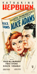 "Movie Posters:Romance, Alice Adams (RKO, 1935). Three Sheet (41"" X 79.75"").. ..."