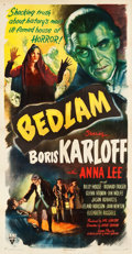 "Movie Posters:Horror, Bedlam (RKO, 1946). Three Sheet (41.5"" X 79.25"").. ..."
