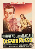 """Movie Posters:Action, Blood Alley (Warner Brothers, 1955). Italian 2 - Foglio (39.5"""" X55.25"""").. ..."""