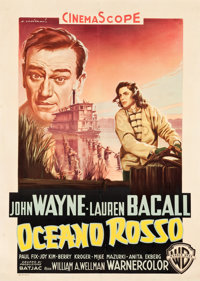 "Blood Alley (Warner Brothers, 1955). Italian 2 - Foglio (39.5"" X 55.25"")"