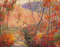 Impressionism & Modernism, SELDEN CONNOR GILE (American, 1877-1947). Fall's Beginning,1928. Oil on canvas. 24 x 30 inches (61.0 x 76.2 cm). Signed...