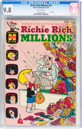 Silver Age (1956-1969):Cartoon Character, Richie Rich Millions #34 (Harvey, 1969) CGC NM/MT 9.8 Off-white pages....