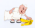 Animation Art:Production Cel, Mr. Magoo Trouble Indemnity Production Cel Setup(UPA, 1951).... (Total: 2 Original Art)