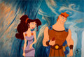 Animation Art:Presentation Cel, Hercules Employee Only Limited Edition Cel #53/118 (WaltDisney, 1997).... (Total: 4 Items)