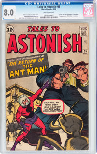 Tales to Astonish #35 (Marvel, 1962) CGC VF 8.0 Off-white pages