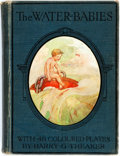 Books:Children's Books, Charles Kingsley. The Water-Babies. With 48 colour plates byHarry G. Theaker. London: Ward, Lock, [n.d., ca. 1900]....