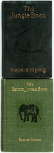 Books:Literature Pre-1900, Rudyard Kipling. The Jungle Book [and:] The Second JungleBook. Various publishers and dates. Both later edi... (Total: 2Items)