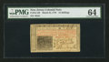 Colonial Notes:New Jersey, New Jersey March 25, 1776 15s PMG Choice Uncirculated 64.. ...