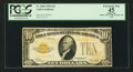 Small Size:Gold Certificates, Fr. 2400 $10 1928 Gold Certificate. PCGS Apparent Extremely Fine 45.. ...