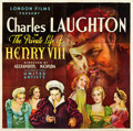 "Movie Posters:Drama, The Private Life of Henry VIII (United Artists, 1933). Six Sheet(80.5"" X 79.25"").. ..."