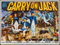 "Movie Posters:Comedy, Carry On Jack (Anglo Amalgamated, 1963). British Quad (30"" X 40"").Comedy.. ..."
