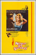 "Movie Posters:Foreign, Never on Sunday (Lopert, 1960). One Sheet (27"" X 41""). Foreign.. ..."