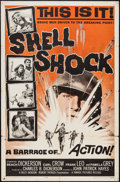 "Movie Posters:War, Shell Shock and Other Lot (Parade Releasing, 1964). One Sheets (2)(27"" X 41""). War.. ... (Total: 2 Items)"