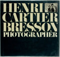 Books:Photography, Henri Cartier-Bresson: Photographer. Boston: New York Graphic Society, [1979]. First American edition. Oblong quarto. Pu...