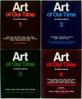 Books:Art & Architecture, [Various Authors]. Art of Our Time. The Saatchi Collection. London: Lund Humphries, [1984]. Four quarto volumes, wit...