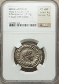 Ancients:Roman Provincial , Ancients: SYRIA. Antioch. Philip II (AD 247-249). AR tetradrachm(13.12 gm)....