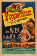 "Movie Posters:Western, Frenchie (Universal International, 1951). One Sheet (27"" X 41""). Western.. ..."