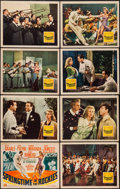 "Movie Posters:Musical, Springtime in the Rockies (20th Century Fox, 1942). Lobby Card Set of 8 (11"" X 14""). Musical.. ... (Total: 8 Items)"