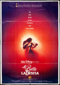 """Movie Posters:Animation, Beauty and the Beast & Other Lot (Buena Vista, 1992). Italian 2- Foglio (39"""" X 55"""") & German Lobby Cards (16) (8.25"""" X 11.7...(Total: 17 Items)"""