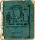 Books:Americana & American History, [Americana]. Honest Tommy. Embellished with engravings, andcoloured by machine. Baltimore: Bayly & Burns, [n.d., ca...