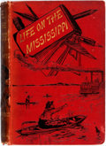 Books:Literature Pre-1900, Mark Twain. Life on the Mississippi. London: Chatto &Windus, 1883. First British edition. Publisher's red cloth. Sp...