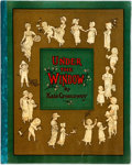 Books:Children's Books, Kate Greenaway. Under the Window. London: George Routledge,[n.d., ca. 1880]. Original cloth-backed illustrated pape...
