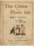 Books:Children's Books, [Kate Greenaway, illustrator]. Bret Harte. The Queen of thePirate Isle. London: Chatto and Windus, [n.d., ca. 1880]...