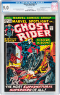 Bronze Age (1970-1979):Superhero, Marvel Spotlight #5 Ghost Rider - Don/Maggie Thompson Collectionpedigree (Marvel, 1972) CGC VF/NM 9.0 White pages....