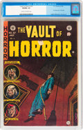 Golden Age (1938-1955):Horror, Vault of Horror #37 (EC, 1954) CGC VG/FN 5.0 Cream to off-whitepages....