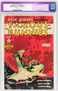 Golden Age (1938-1955):Science Fiction, Famous Funnies #214 (Eastern Color, 1954) CGC Apparent VG 4.0Slight (A) Off-white pages....