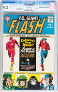 Silver Age (1956-1969):Superhero, 80 Page Giant #9 The Flash - Don/Maggie Thompson Collectionpedigree(DC, 1965) CGC NM- 9.2 White pages....