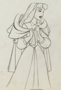 Animation Art:Production Drawing, Sleeping Beauty Briar Rose Production Drawing Animation Art Group (Walt Disney, 1959).... (Total: 2 Original Art)