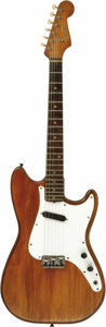 """Musical Instruments:Electric Guitars, John Phillips' 1962 Fender Musicmaster Guitar, Used During theFormative Days of The Mamas and the Papas. The late """"Papa Joh...(Total: 1 Pieces Item)"""