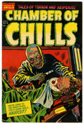 Golden Age (1938-1955):Horror, Chamber of Chills #18 (Harvey, 1953) Condition: VF....