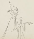 Animation Art:Production Drawing, Sleeping Beauty Maleficent Animation Art Production Drawing Group (Walt Disney, 1959).... (Total: 2 Original Art)