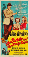 "Movie Posters:Comedy, The Bachelor and the Bobby Soxer (RKO, 1947). Three Sheet (41"" X 80""). Comedy.. ..."