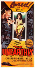 "Movie Posters:Science Fiction, The Unearthly (Republic, 1957). Three Sheet (42"" X 80"").. ..."