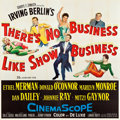 """Movie Posters:Musical, There's No Business Like Show Business (20th Century Fox, 1954). Six Sheet (80"""" X 80"""").. ..."""
