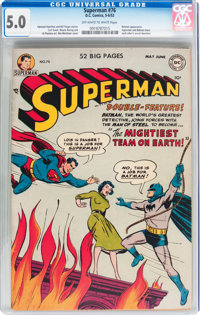Superman #76 (DC, 1952) CGC VG/FN 5.0 Off-white to white pages