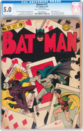 Golden Age (1938-1955):Superhero, Batman #11 (DC, 1942) CGC VG/FN 5.0 Cream to off-white pages....