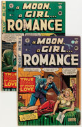 Golden Age (1938-1955):Romance, A Moon, A Girl...Romance #9 and 10 Group (EC, 1949).... (Total: 2Comic Books)