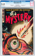 Golden Age (1938-1955):Horror, Mister Mystery #12 (Aragon, 1953) CGC VG/FN 5.0 Off-white pages....